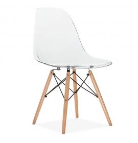 chaise translucide excellent quatuor de chaises transparent ghost l x l x h with chaise. Black Bedroom Furniture Sets. Home Design Ideas