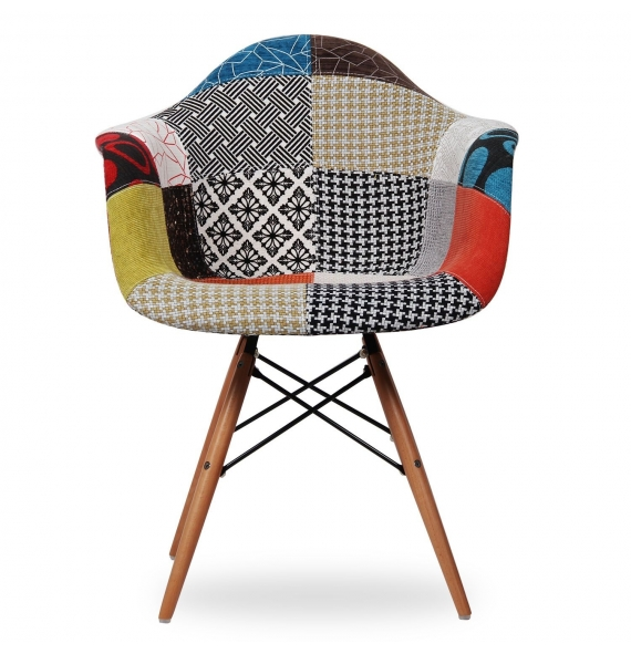 chaise style eames daw patchwork secret design. Black Bedroom Furniture Sets. Home Design Ideas
