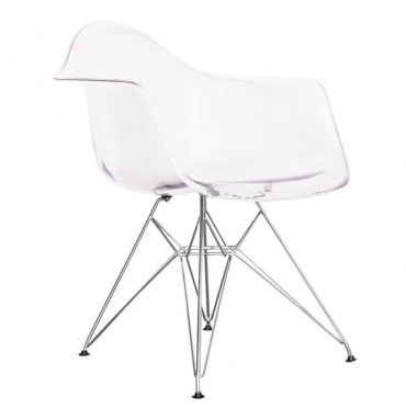 Chaise DAR transparente Eames