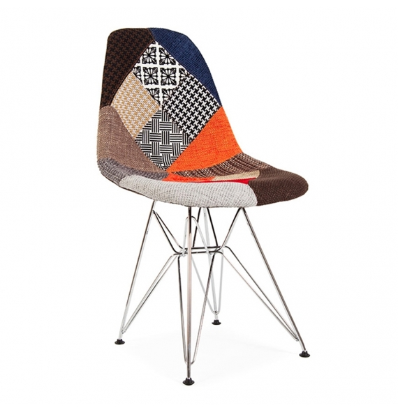 Chaise dsr patchwork style eames secret design for Chaise patchwork