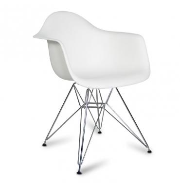 Chaise DAR inspiration Eames Blanc