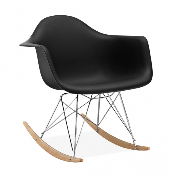 Chaise À Bascule Rar Style Eames - Secret Design