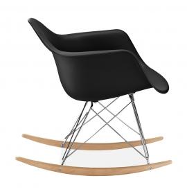 Chaise bascule rar patchwork style eames secret design for Chaise eames rar