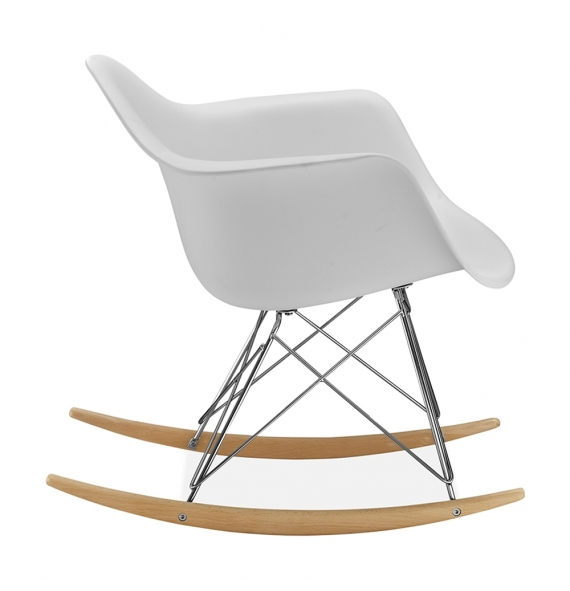 Chaise bascule rar style eames secret design for Chaise 0 bascule