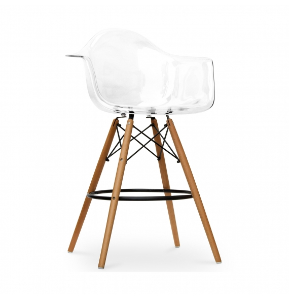 tabouret de bar daw ghost style eames secret design