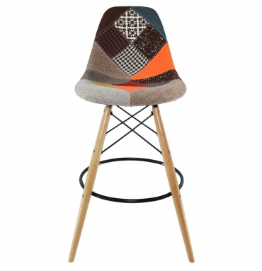 Tabouret bar DSW patchwork