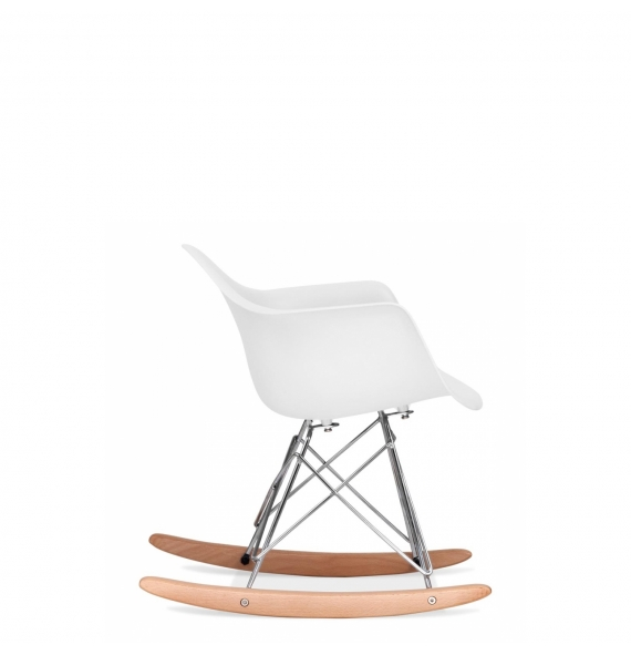 rocking chair rar enfant blanc - Chaise Scandinave Bascule