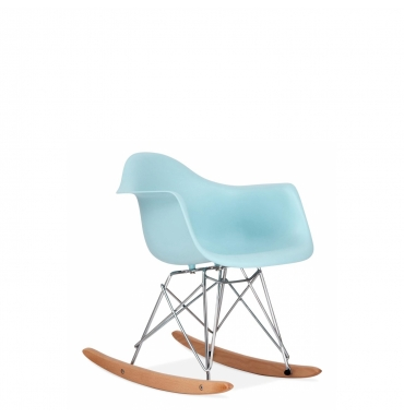 Rocking Chair RAR enfant beu pastel