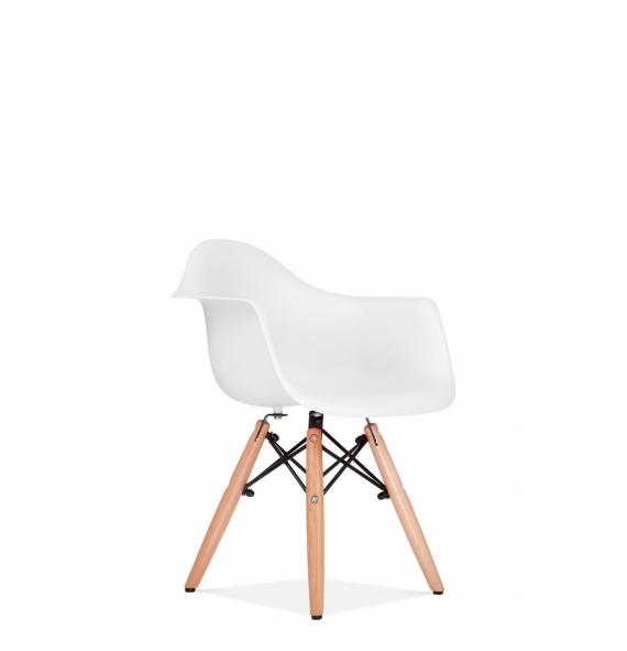 Chaise Avec Accoudoir DAW Enfant Blanc