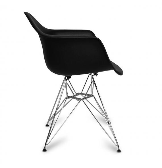 Chaise dar avec accoudoirs style eames en vente chez Chaise inspiration eames